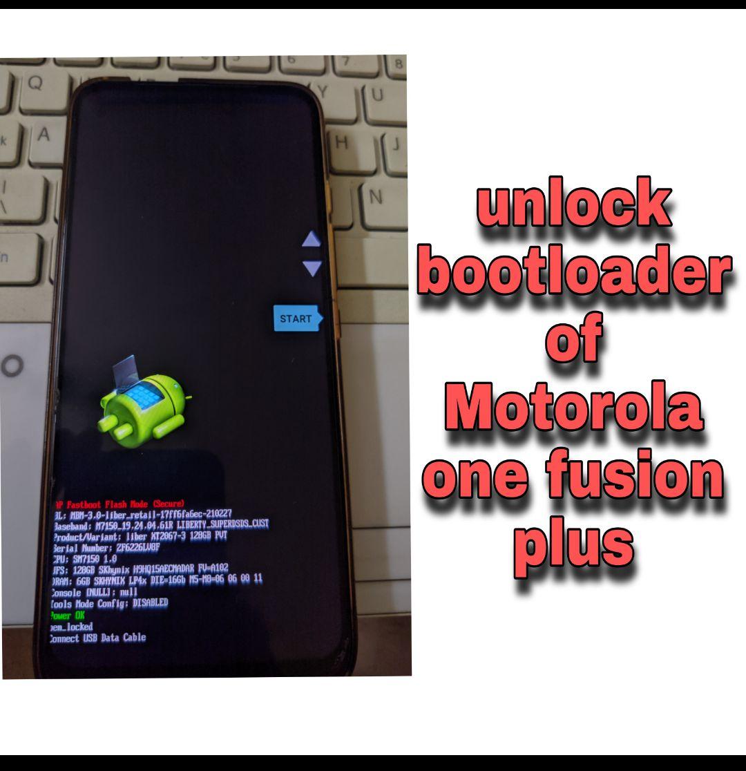 Unlock-bootloader-of-motorola-one-fusion-plus-liber